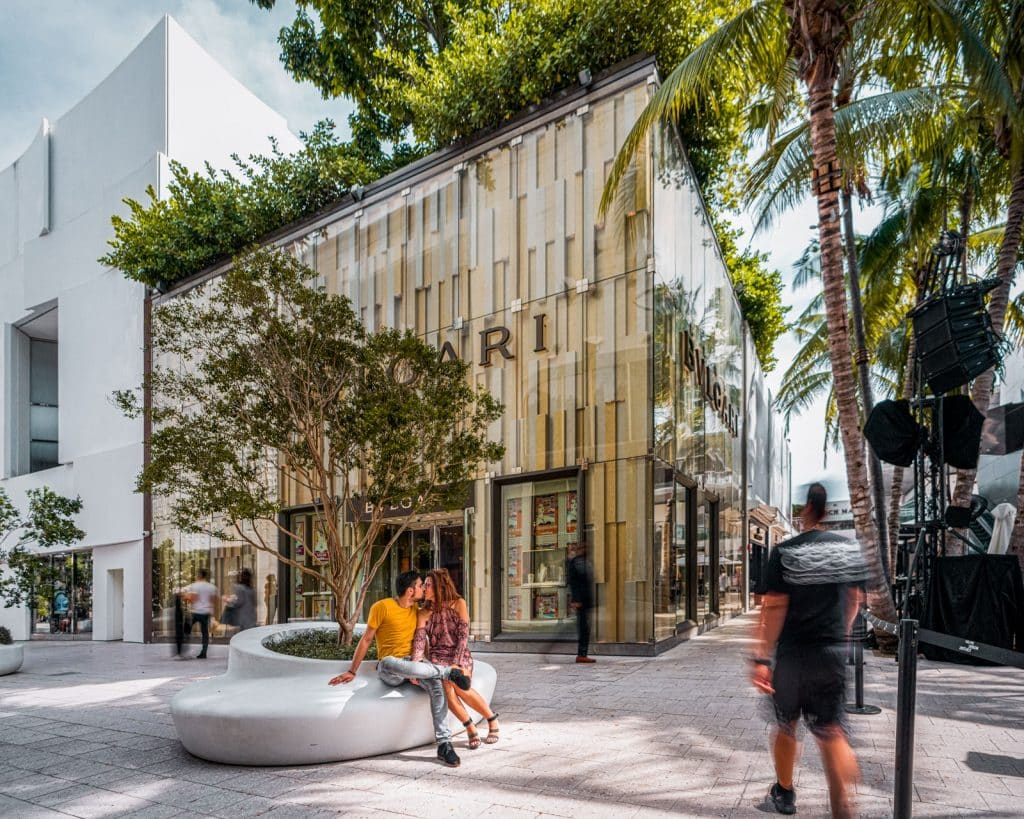French engagement design district Miami Beach